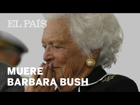 Muere BARBARA BUSH