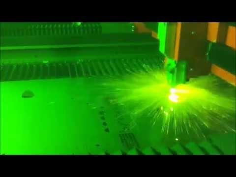 Bystronic 6kw Fiber Laser High Speed Cutting Youtube