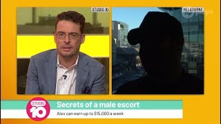 Secrets From A Male Escort Who Earns Up To $15,000 A Week | Studio 10