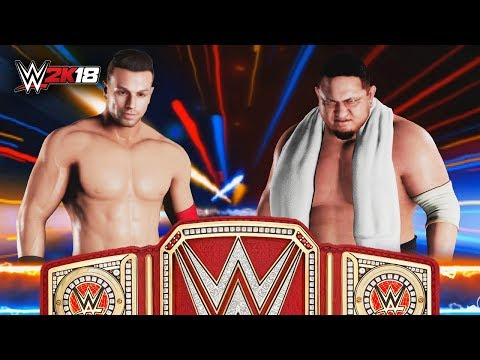 WWE 2K18 My Career Mode - Ep 40 - UNIVERSAL CHAMPIONSHIP MATCH!!