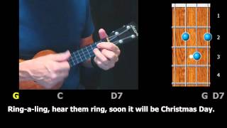 Silver Bells - Christmas Ukulele Strum-Along