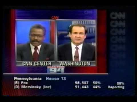1994 Election Night Coverage Part 15: CNN and CBS - YouTube