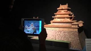 駿府城の四季(江戸東京博物館にて)