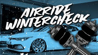 HOW DEEP? // AIRRIDE WINTERCHECK - VW GOLF 8