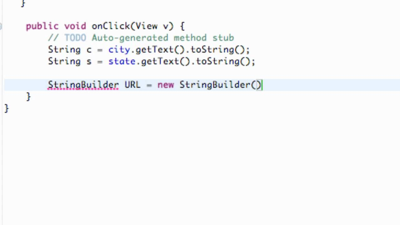 Android Application Development Tutorial - 155 - StringBuilder and XML  Parsing Framework