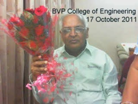 Guest lecture at Bharti Vidyapeth College of Engg 17 October 2011