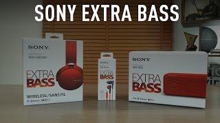 Sony Extra Bass ses ekipmanları incelemesi