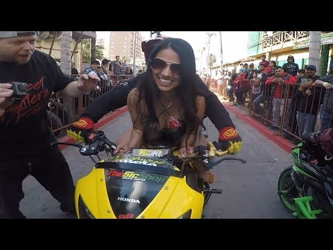 Mexico's WILDEST Motorcycle Stunt Ride called... TSR | Official Series.