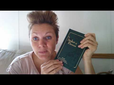 Home Library - Lamplighter Subscription unboxing || Basket of Flowers