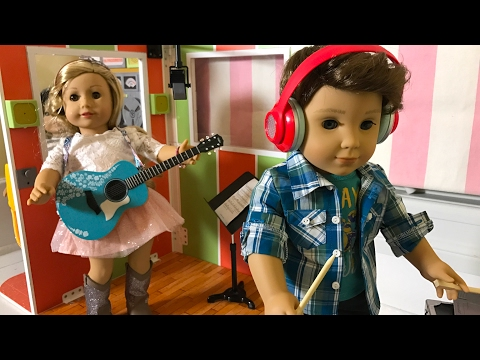 American Girl Tenney and Logan Stop Motion