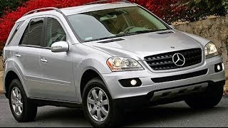 2008 Mercedes-Benz M-Class ML350 Start Up and Review 3.5 L V6