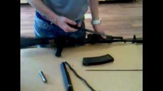 Как собрать - разобрать автомат, оружие..mp4
