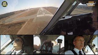 LH Cargo MD 11F ULTIMATE COCKPIT MOVIE 2/4 to Johannesburg,FULL ATC [AirClips full flight series]