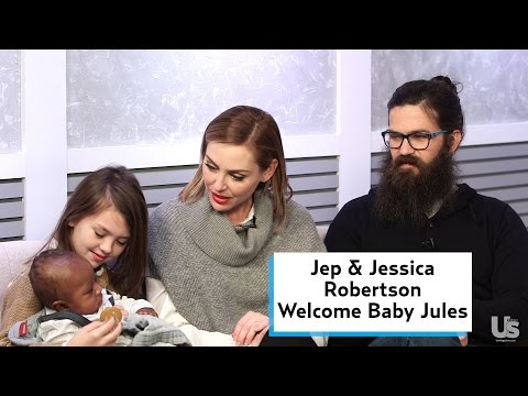 Jep & Jessica Robertson Welcome Baby Jules
