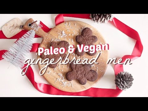 GINGERBREAD COOKIES | Paleo, Vegan & Refined Sugar Free