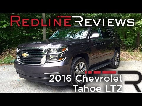 2016 Chevrolet Tahoe LTZ  Redline Review  YouTube
