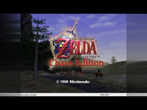 Zelda Ocarina Of Time Chaos Edition Rom Hack - Part 1 Hole