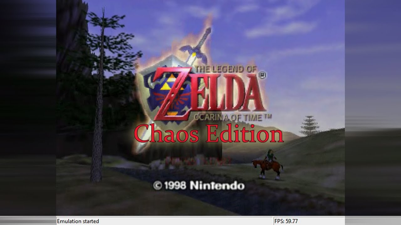 Zelda Ocarina Of Time Chaos Edition ROM Hack - Part 1 HOLE OF FREEZE