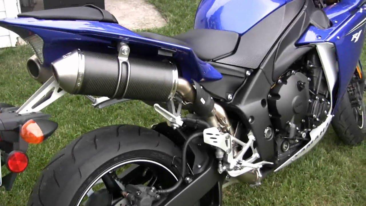 Maxresdefault on Yamaha R1 Leo Vince