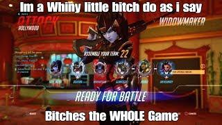 Overwatch | Team Rages At Widowmaker