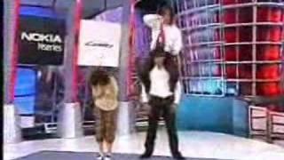 JeeJa (chocolate 2008) stunt show on Johjai TV Part 2/2