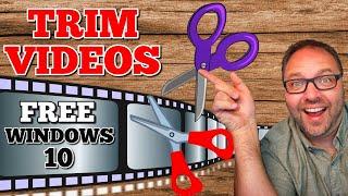 How to Trim Videos in Windows 10 Video Editor | Free screenshot 2