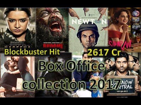 Box Office Collection Of Bhoomi, Newton, Haseena Parkar, Simran, IT, Baadshaho etc 2017
