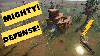 """RUST │ SOLO/DUO Base Build │DEFENSE! │ & Electricity wiring Guide │ """"The Ben Den"""" │"""