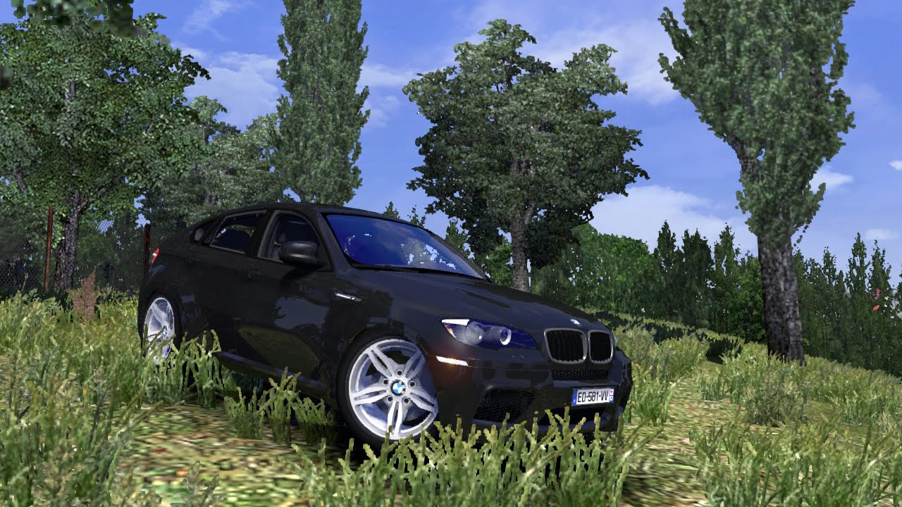 Ets2 Bmw X6 Mod Euro Truck Simulator 2 Youtube