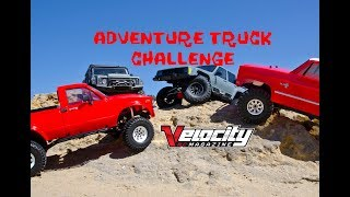 ADVENTURE SHOOTOUT - VELOCITY RC CARS MAGAZINE
