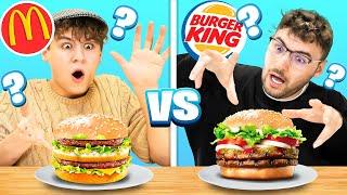 ERRÄTST DU DEN BURGER? - Burger CHALLENGE!