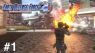 Earth Defense Force 4.1: The Shadow of New Despair (Walkthrough/Gameplay) - Part 1 (Ranger)