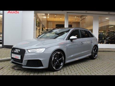 Audi Rs3 2 5tfsi 367pk Nardo Grijs B Amp O Zwart Optiek