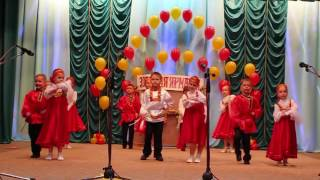 """Танец """"Золотая ярмарка"""". Гала-концерт """"Дети земли Кубанской""""."""