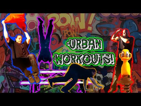 Urban Workouts With Calisthenics and Isometrics.