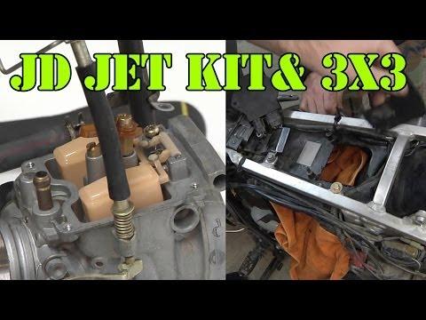 JD Jet Kit Install and 3X3 Mod DRZ400SM Supermoto from Thumper Talk