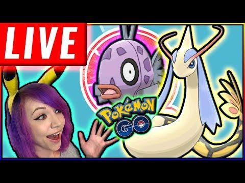 LIVE: SHINY FEEBAS DAY HUNT Pokémon GO thumbnail