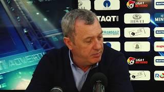 Mircea Rednic dupa Gaz Dinamo 2-1