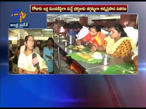 Interview With TTD Official Over Annadanam Arrangements On Brahmothsavam Eve