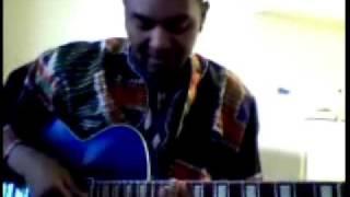 African guitar Makossa