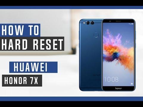 How to Hard Reset Huawei Honor 7X - Swopsmart