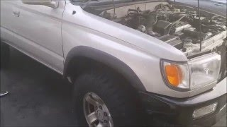 How to remove running boards on a 1998 (3rd gen) 4Runner
