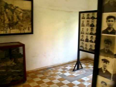 Photos at Tuol Sleng (S-21) in Phnom Penh, Cambodia