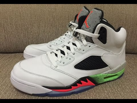 "27dadca0cd79 Air Jordan 5 ""Space Jam"" (June 6)   Price - YouTube"