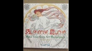 Alphonse Mucha - Make Your Own Masterpiece flip through