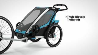 Multisport trailer - Thule Chariot Sport feature video