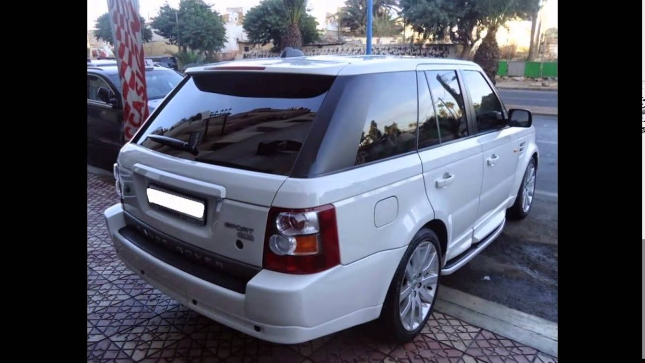AVITO RANGE ROVER SPORT By www.123occasion.ma - YouTube