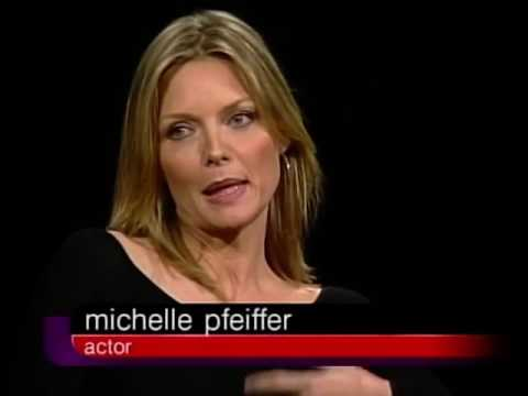 Michelle Pfeiffer Job İnterview On Charlie Rose 2001 & Mickey Rourke Alan Parker Lisa