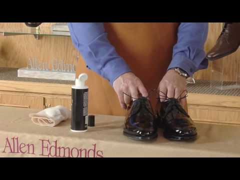 Shoe Care - Caring for Patent Leather