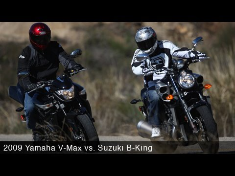 Yamaha Vmax Vs Suzuki B King